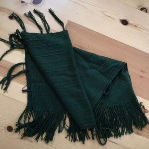 Accessories - 🔳 Hunter green poncho